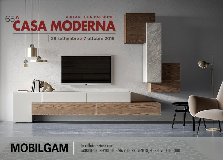 MOBILGAM alla 65° edizione di CASA  MODERNA - Udine