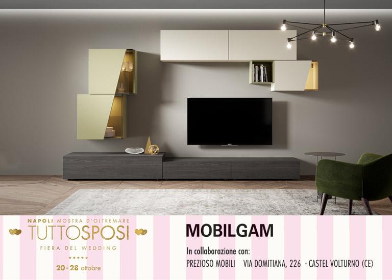 MOBILGAM presente a Tutto Sposi, la fiera del Wedding  che si terrà a Napoli dal 20 al 28 ottobre