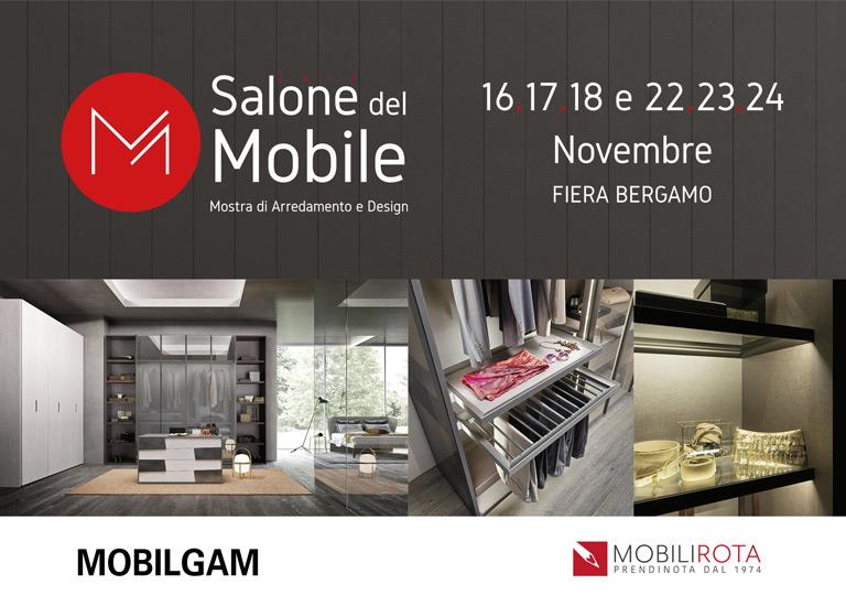 MOBILGAM al Salone del Mobile - Fiera di Bergamo dal 16-18/22-24 Novembre 2019