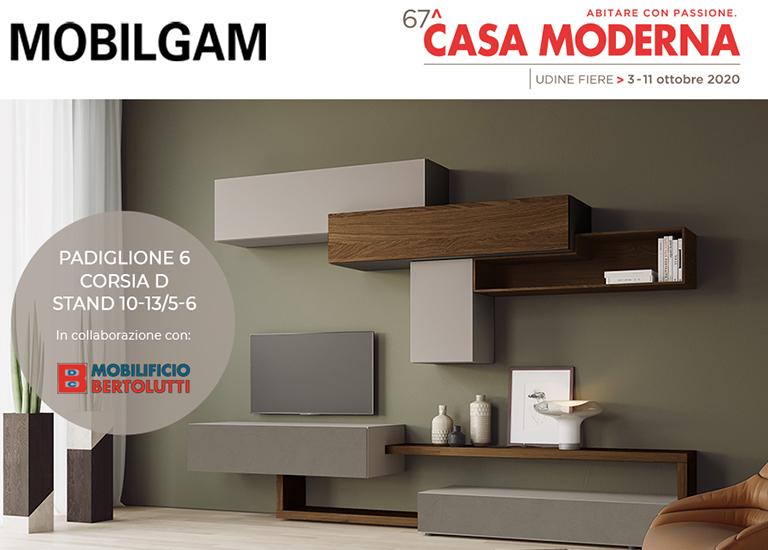 MOBILGAM en la 67 edición de CASA MODERNA 3-11 octubre 2020 - Udine