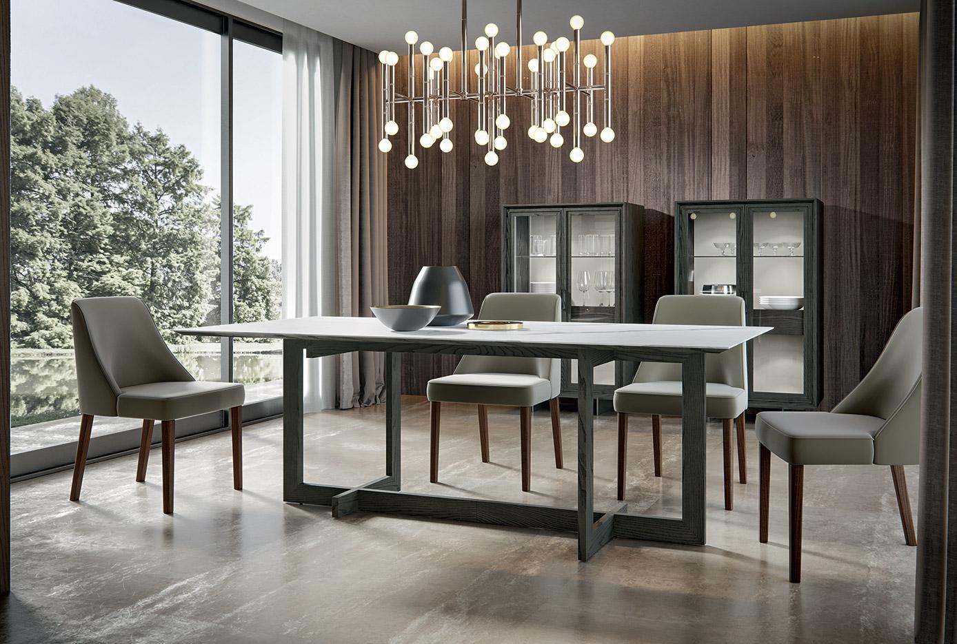 Tavoli e sedie zenith mobilgam for Tavoli design outlet