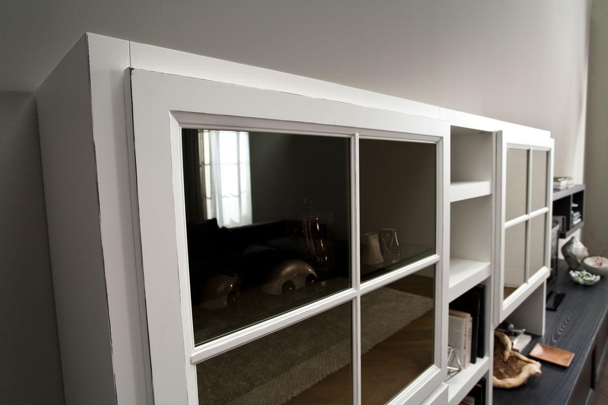 Libreria classica zenith mobilgam for Concetti di soggiorno